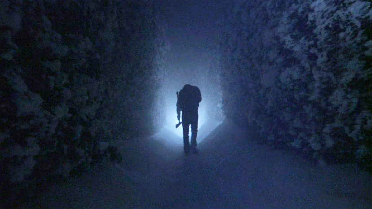 Like the Minotaur in the Maze, Jack hunts down his son in the labyrinth during the Finale.