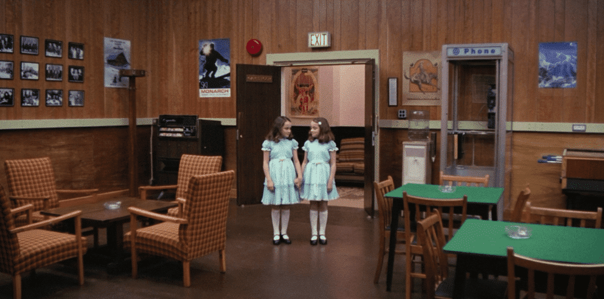 Danny seeing the Grady twins at the Overlook confirms we've entered the upside-down world.
