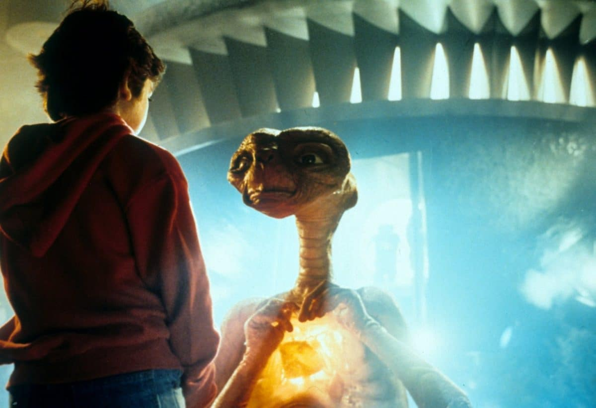 Earlier, Elliott didn't care about others; now, he can't help but do so. He has been transformed by sharing in E.T.'s empathy.