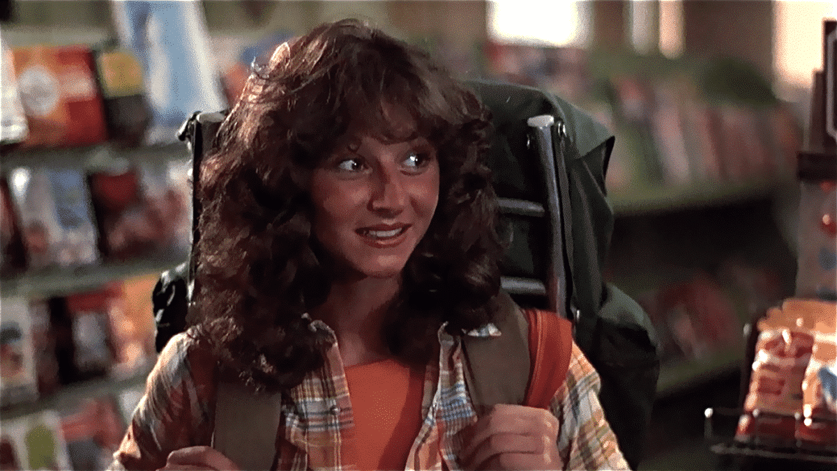 """Fresh-faced and chipper Annie arrives in the dour town to no welcoming committee when she announces that she's heading to Camp Crystal Lake, which townies have dubbed """"Camp Blood."""""""