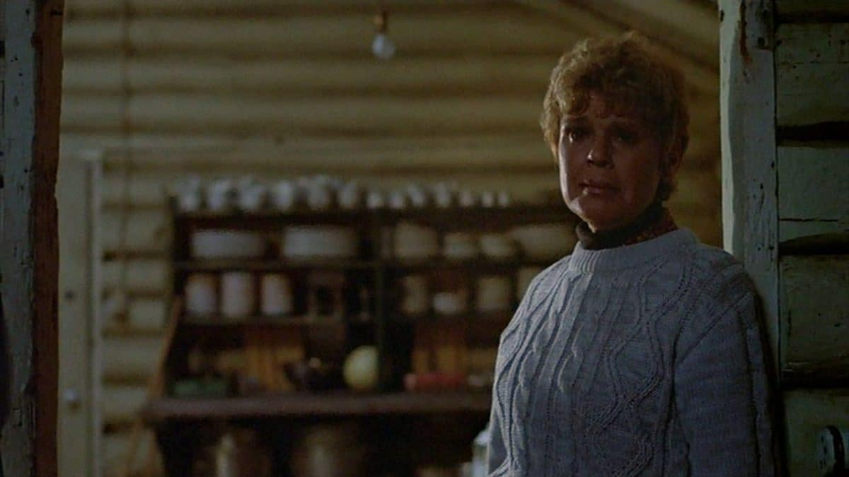 "Pamela Voorhees comes to Alice's ""salvation"" at the Break in Three. Unfortunately, it's not the kind of deliverance Alice needs to survive the night."