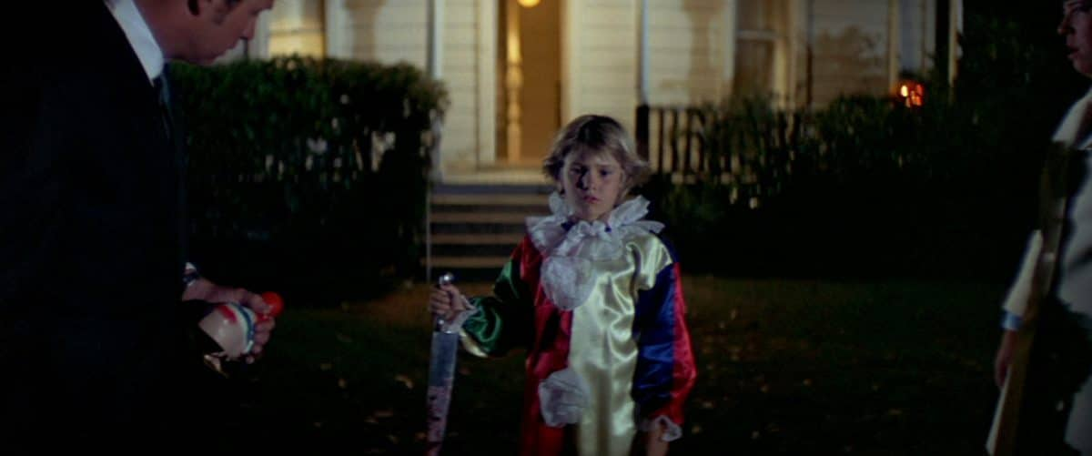 Michael, age 6, makes his first killing in what will be a successful, lifelong career of murder and mayhem.