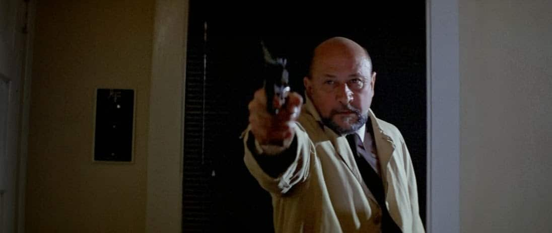 After years of failed therapy, Dr. Loomis goes great guns on his patient in a final effort to make a bang.