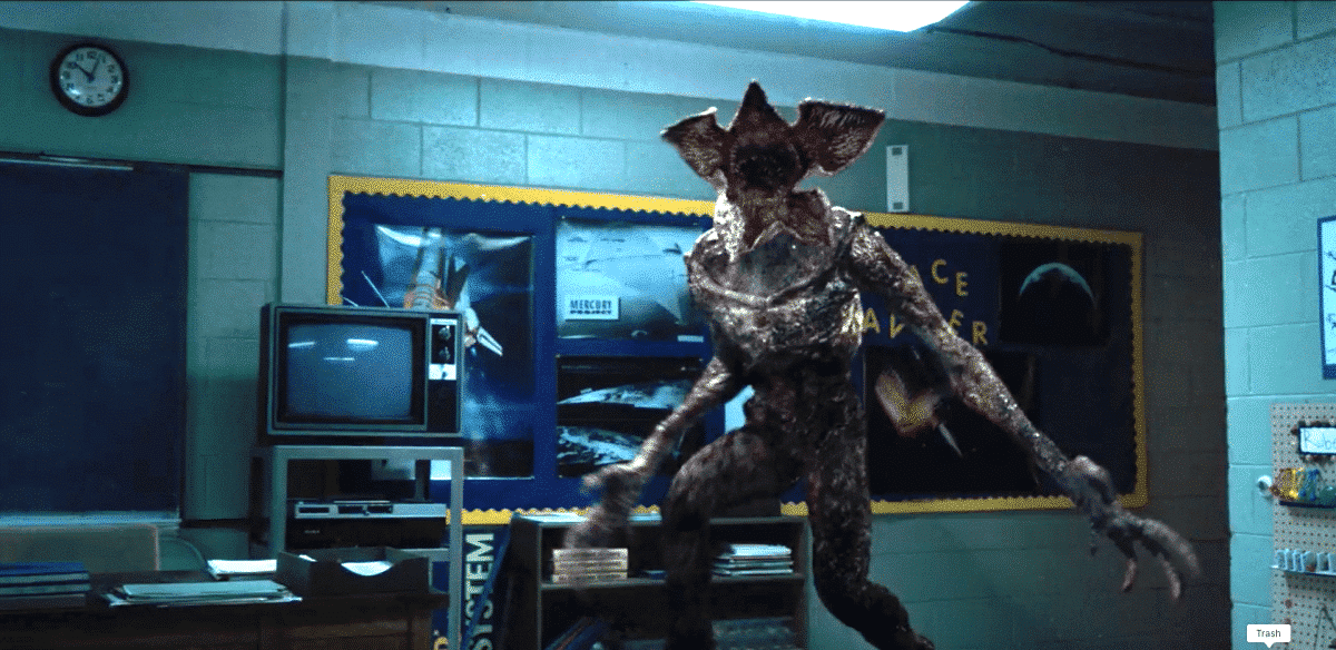 The Demogorgon isn't your ordinary Monster in the House.