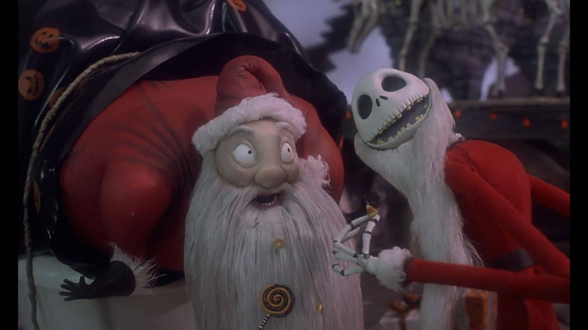 Santa's in a brand-new bag—a Halloween trick or treater's bag—and it's the beginning of the end for St. Nick and Christmas.