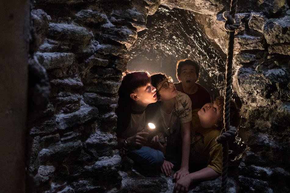 In search of Beverly, Bill and his friends must go where spiders go to die in the ancient well.