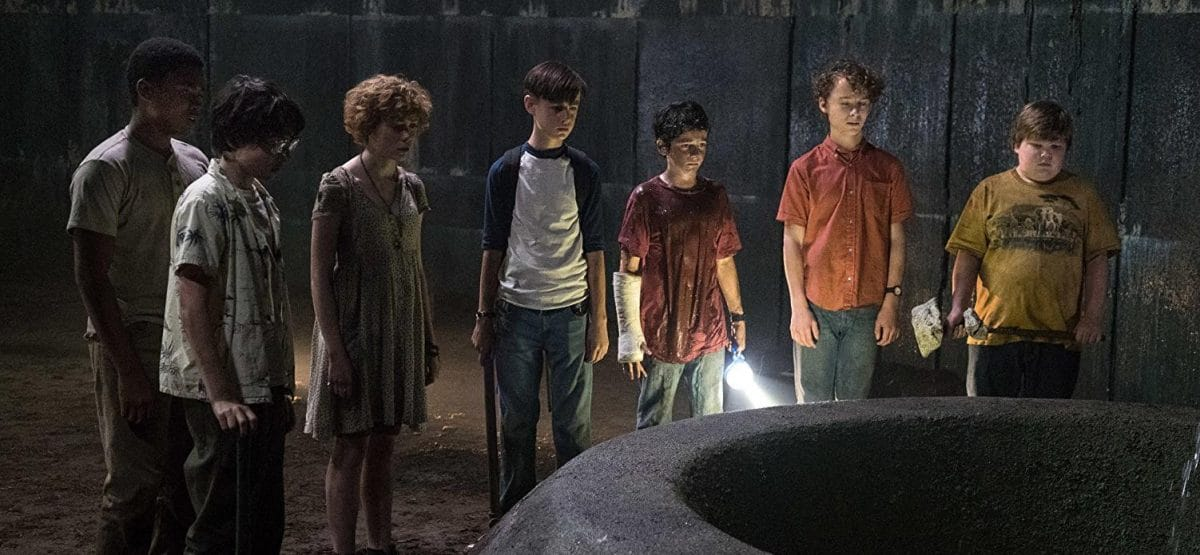The Losers' Club finds the mouth of Pennywise's lair, the old well, in the bowels of the Niebolt house.
