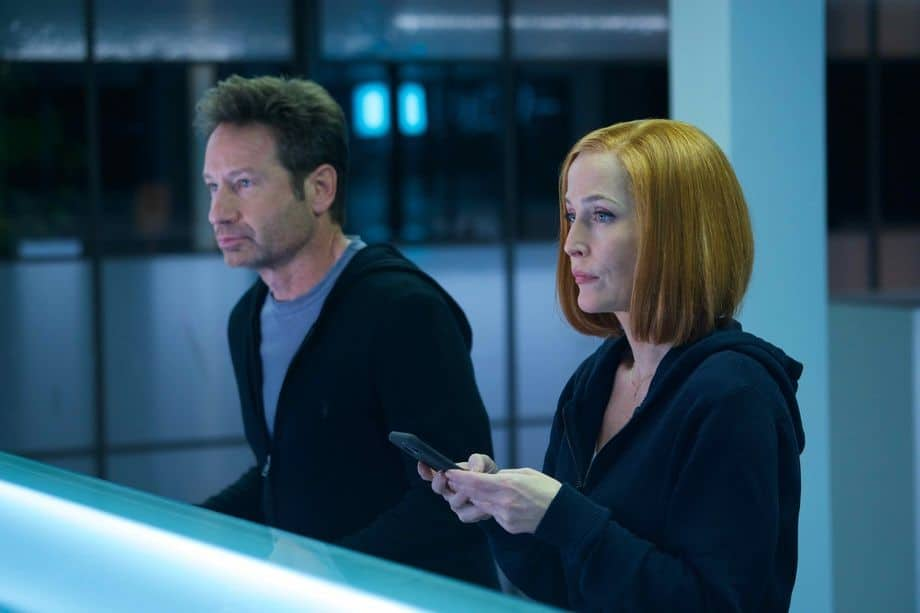Mulder and Scully's thesis world has become a cold, impersonal place filled with technology during the Set-Up.