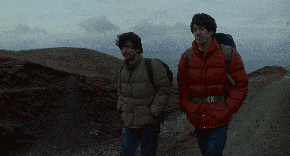 Jack and David discuss their future plans as they backpack across Europe—fate however, has other plans, and rears its hairy head.