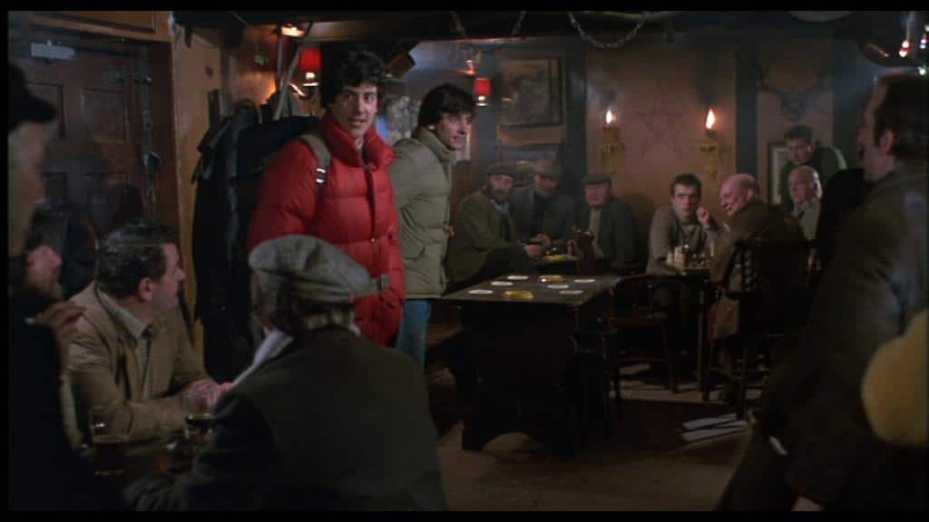 David and Jack find themselves in the inhospitable pub called The Slaughtered Lamb, a name that's oddly prophetic.