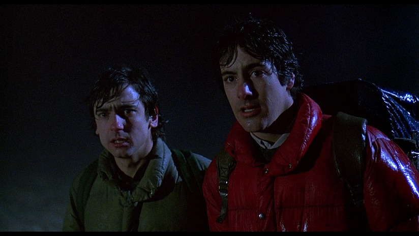 Jack and David who ignored the warning of staying on the road, find themselves stalked by a bestial creature during the full moon.