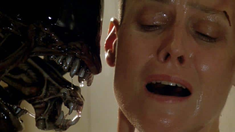What is Ripley's shard of glass in Alien?
