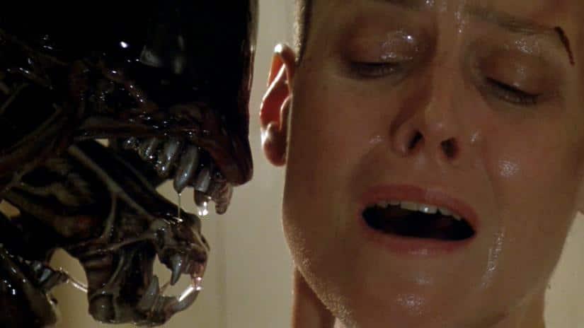 What is Ripley's shard of glass in Alien?