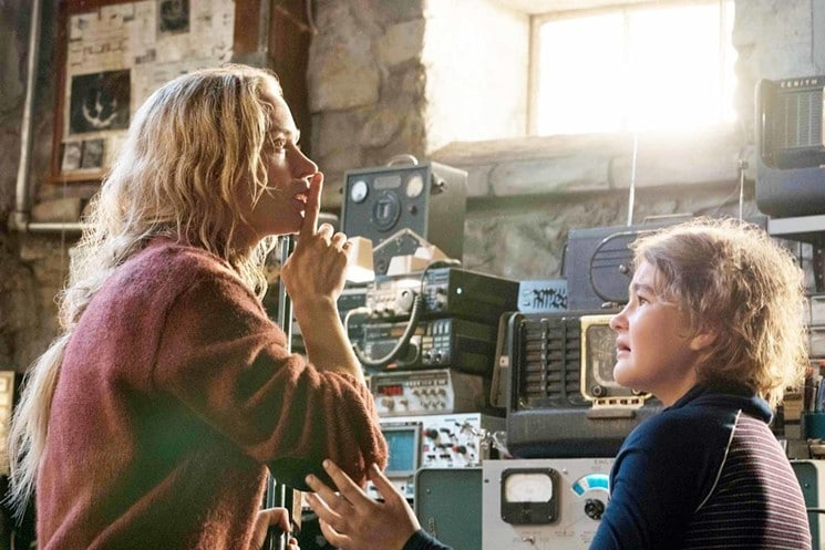 The Importance of Being Quiet: Emily Blunt and Millicent Simmonds have the right to remain silent in A Quiet Place. Protect your children is the film's thematic message.