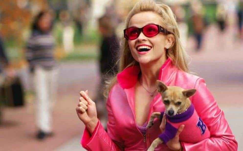 Elle's goal changes over the course of Legally Blonde.