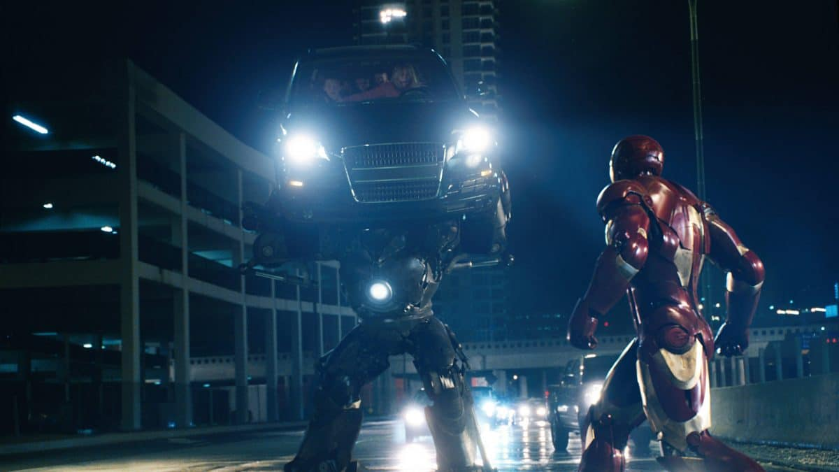 In the Finale, Iron Man meets his match in the Iron Monger.
