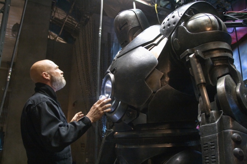 Obadiah Stane is a bigger, badder bad guy with his Iron Monger suit in the Dark Night of the Soul.