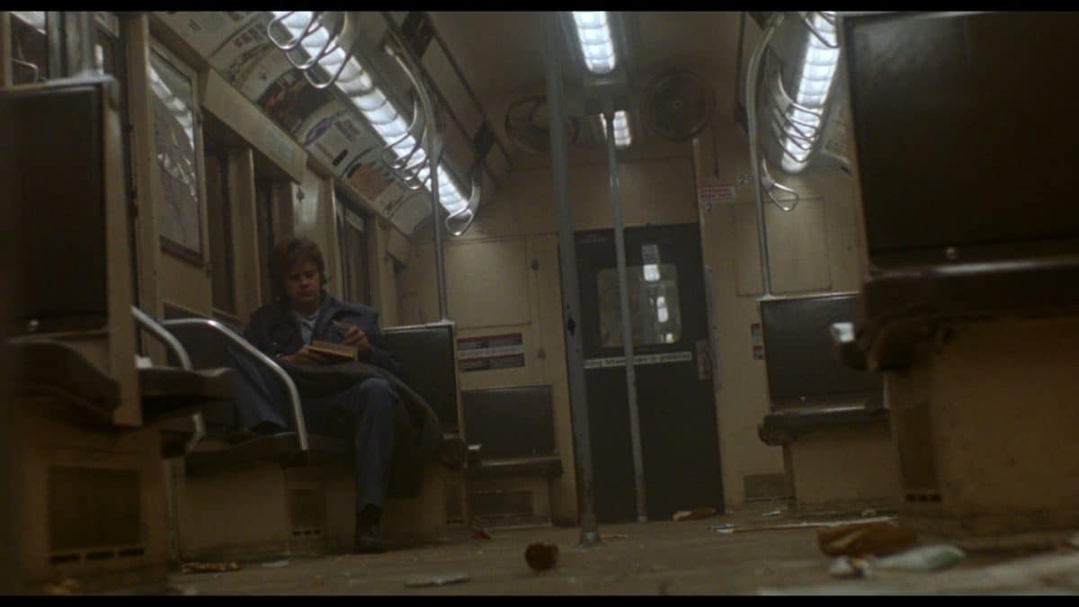 Jacob awakens on the subway, a stranger in his own strange land.