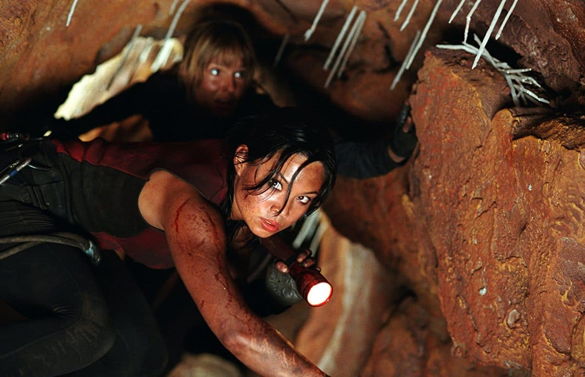 Juno leads Rebecca (and her other friends) to her doom in the caverns of death.