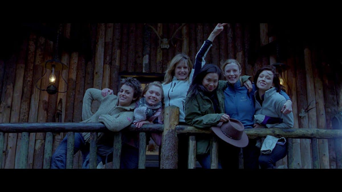 L to R: Holly, Sam, Rebecca, Juno, Sarah, Beth—good friends and the last happiness they'll experience together.