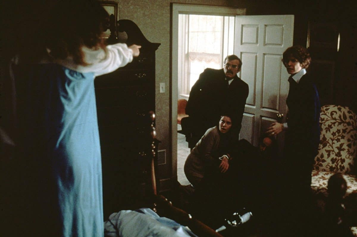 "The Regan/Demon attempts to put Dr. Klein in the hospital when the interview with the ""demon fever"" during their unwelcomed house call."