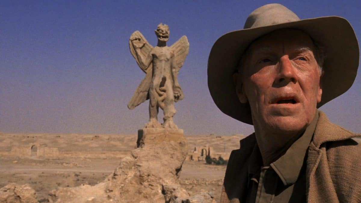 Father Merrin faces only the statue of the demon Pazuzu for now.