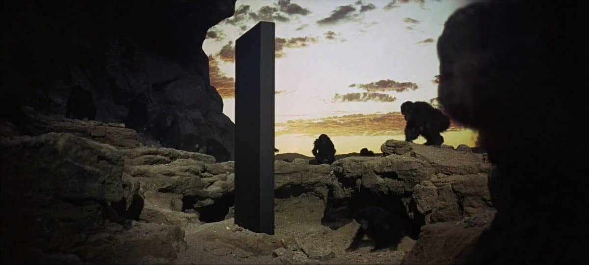 3 Apes and the monolith