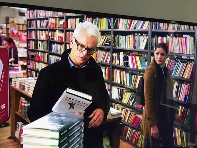 John Slattery and Amanda Peet in The Romanoffs