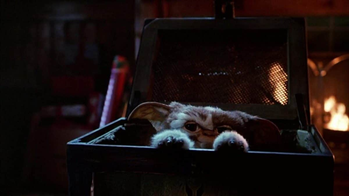 "The Mogwai dubbed ""Gizmo"" makes his first appearance, a catalyst moment."