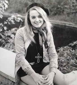 Actress Sinead Cusack in the 60s