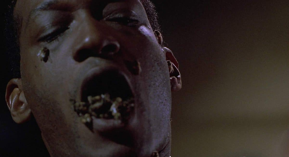 A kiss from Candyman always ends up with the receiver being stung.