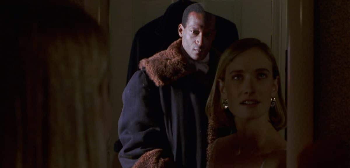 If you dare to call Candyman's name five times in the bathroom mirror with the lights dimmed, he will appear—and murder you!