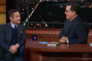 Thomas Lennon Credits <i>STC!</i> on <i>The Late Show with Stephen Colbert</i>