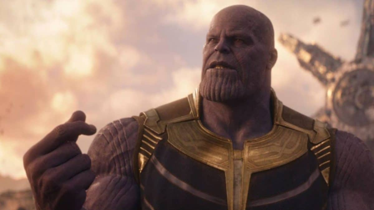 Thanos, the Mad Titan, and protagonist of Infinity War.