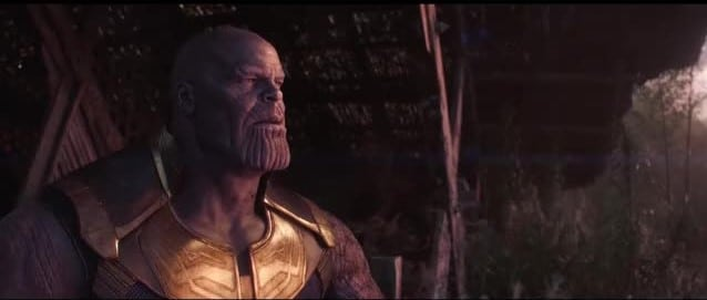 Thanos enjoys a moment of tranquility in the Final Image.