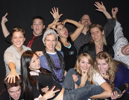 Actors! (Jennifer Zhang, 3rd from left)