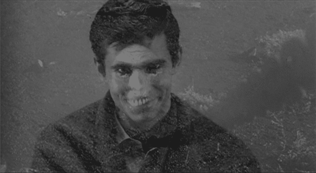 Mother's Day: the dominant personality of Norman Bates, his mother, has finally won out.
