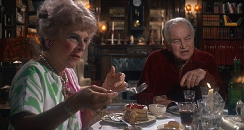 Unbeknown to Rosemary Woodhouse, her friendly neighbors are fattening her up to be the sacrificial lamb for the devil.