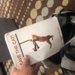 Matt Allen's cat-eared copy of Blake's first book