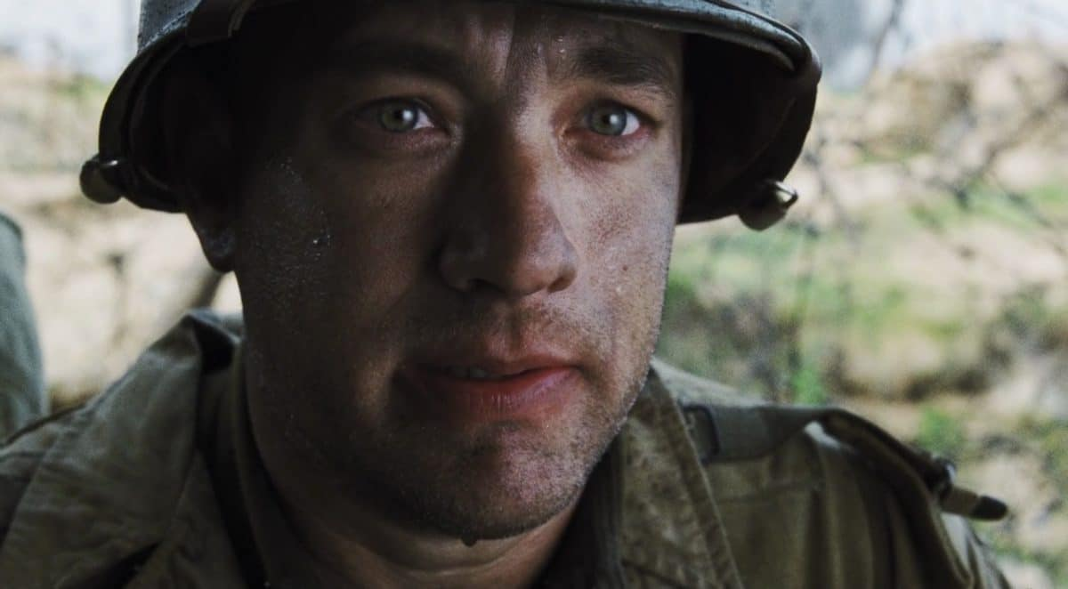 Tom Hanks in Saving Private Ryan.