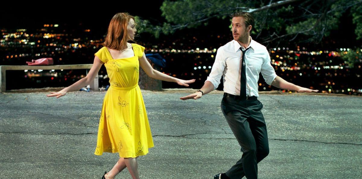 Young lovers pursuing improbable showbiz dreams